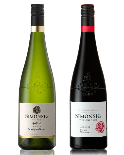 A Case Of Sunbird Sauvignon Blanc 2019 + The GSM 2018
